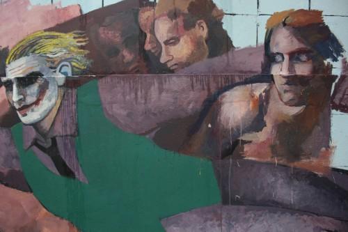 Mural La Creaciòn colaborativo con Patricio Kozow 143 (Custom)