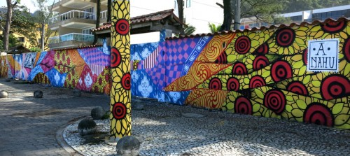 ananda nahu - muralismo na praia da macumba 2014 (Custom)