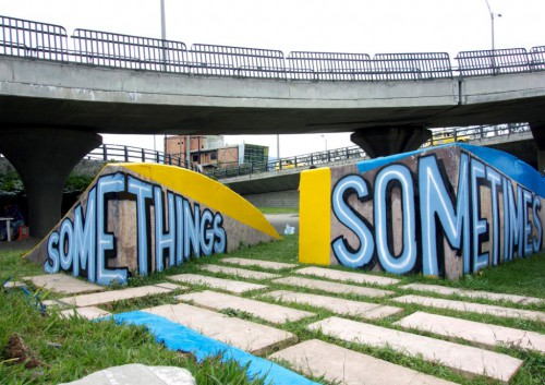 Somethings Forever 1 by Max Rippon (Medellin 2014) (Custom)